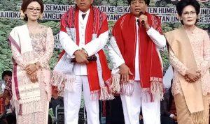 Puncak Hari Jadi Kabupaten Humbahas Ke-15 Dirayakan di Markas Pahlawan Nasional Sisingamangaraja XII