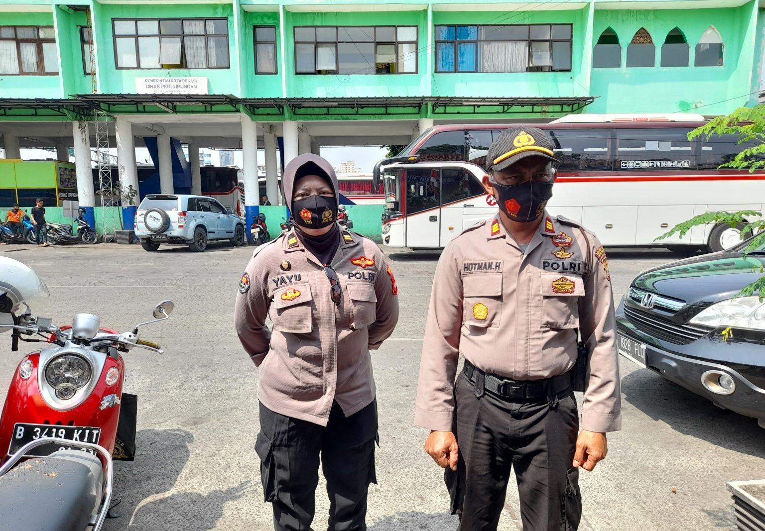 25 Orang Terjaring Rajia Yustisi di Terminal Induk Bekasi ...